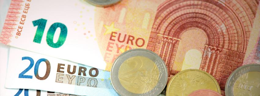 Billets et pièces euros