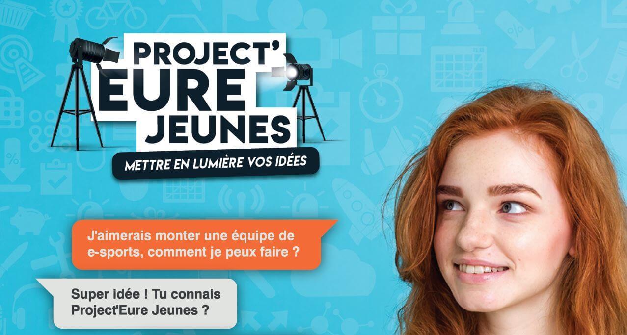 Visuel affiche Project'Eure Jeunes